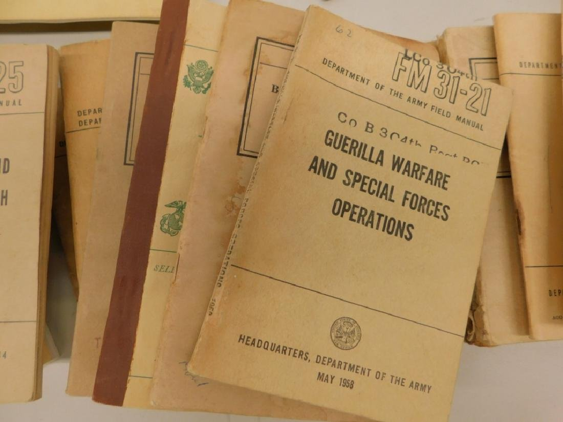 WWII Military Drill,Camouflage, Bayonet Manuals 43 - 4