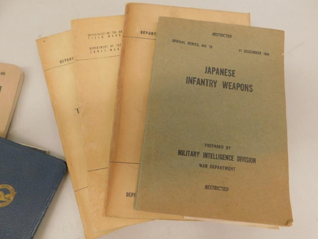 WWII Military Drill,Camouflage, Bayonet Manuals 43 - 7