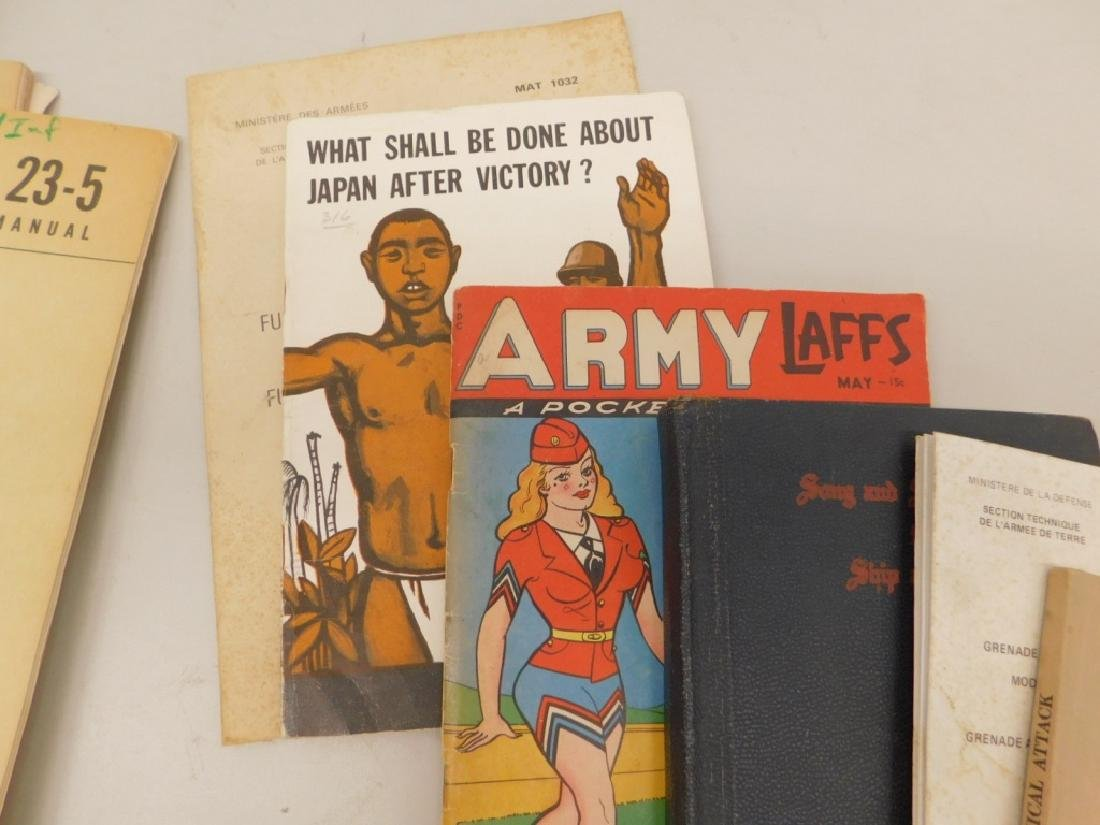WWII Military Drill,Camouflage, Bayonet Manuals 43 - 9