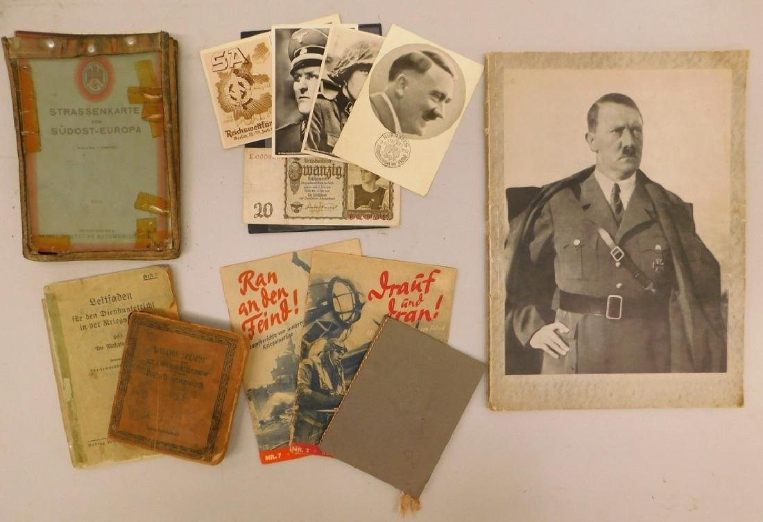 WWII German Publications & Booklets, Post Cards