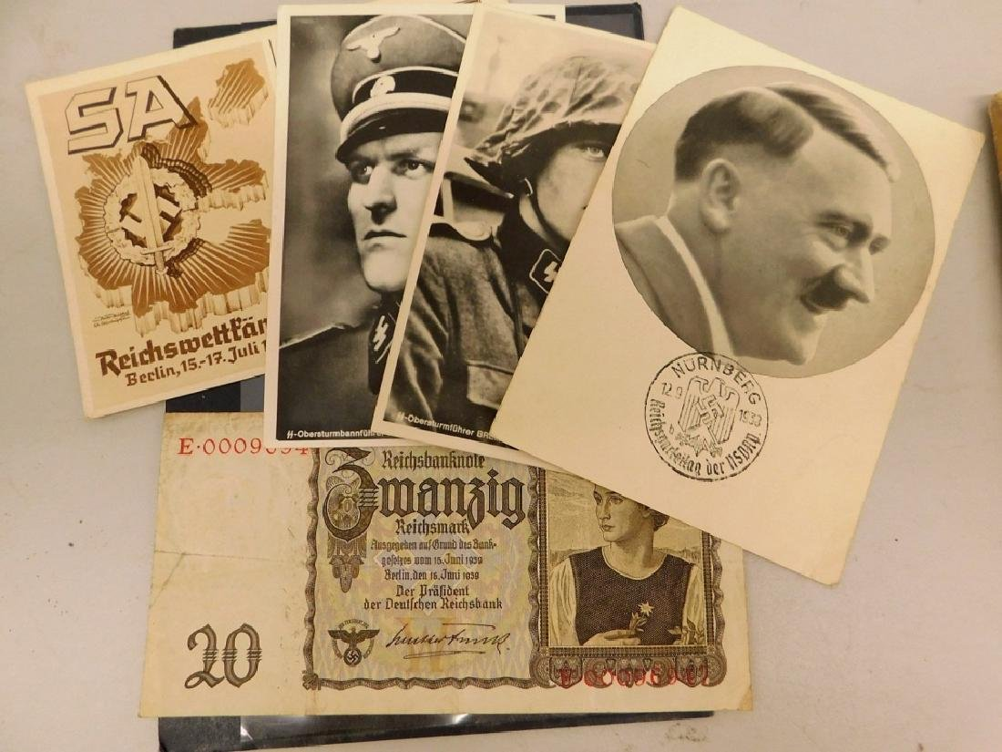 WWII German Publications & Booklets, Post Cards - 3