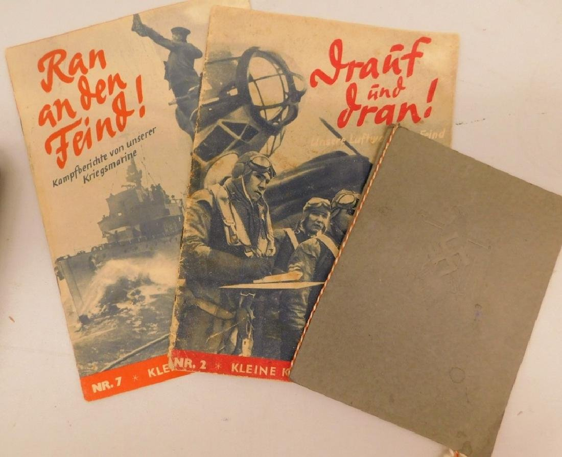 WWII German Publications & Booklets, Post Cards - 6