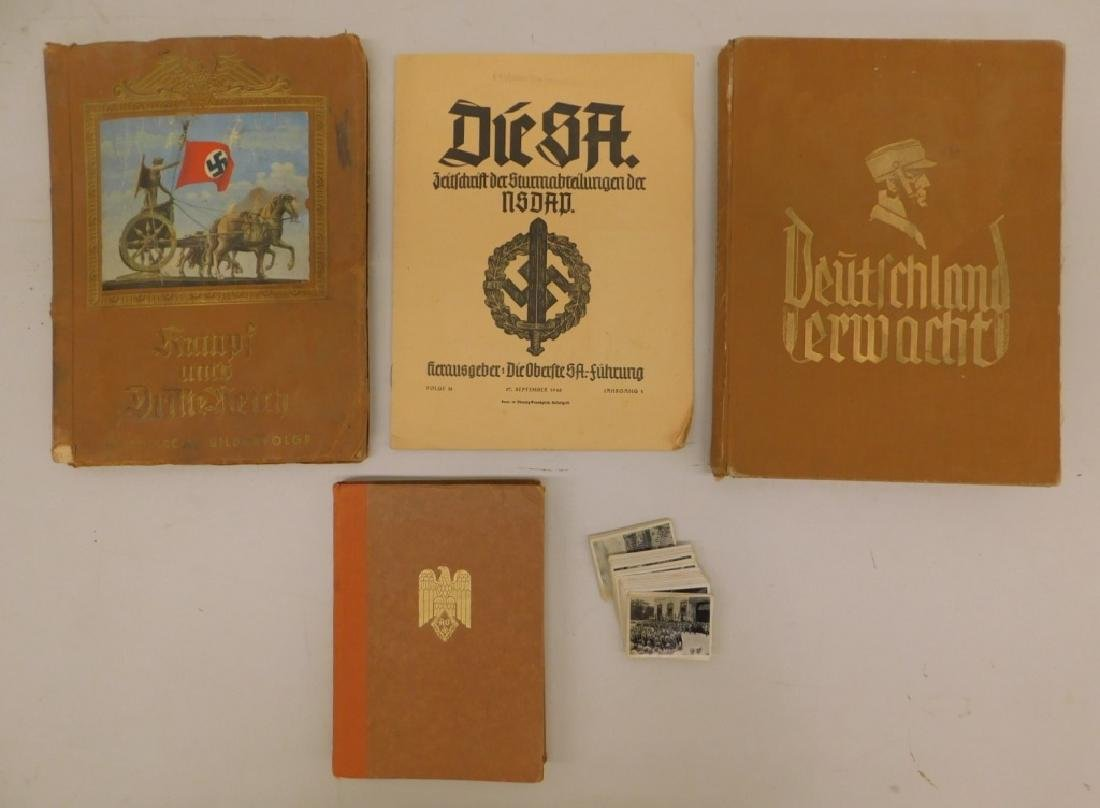 WWII German NSDAP Card Books & Other Publications