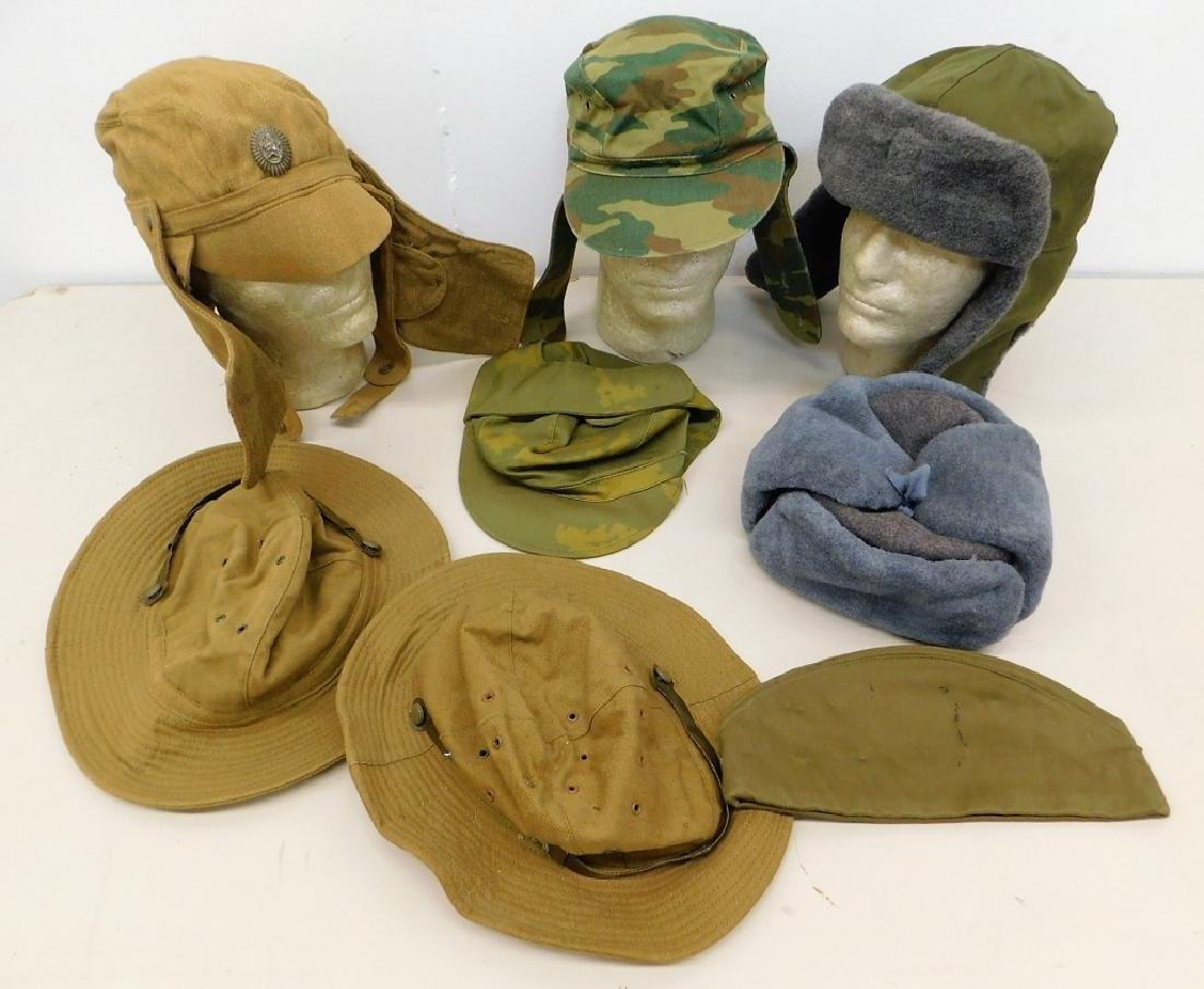 Russian Military Afghan War Period Hats (8)