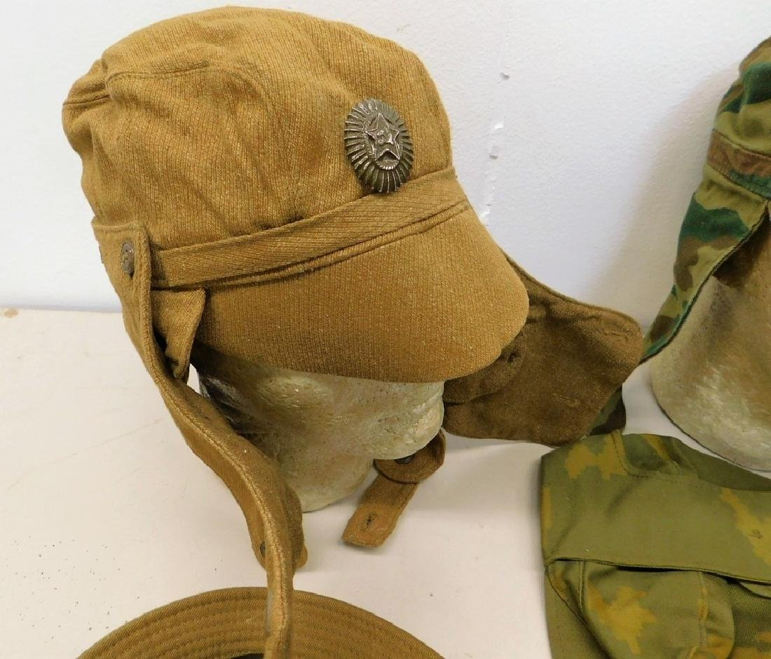 Russian Military Afghan War Period Hats (8) - 2