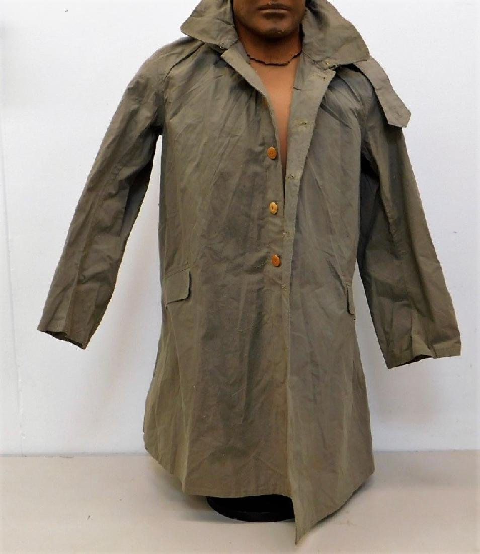 WWII Japanese Late War Military Overcoat