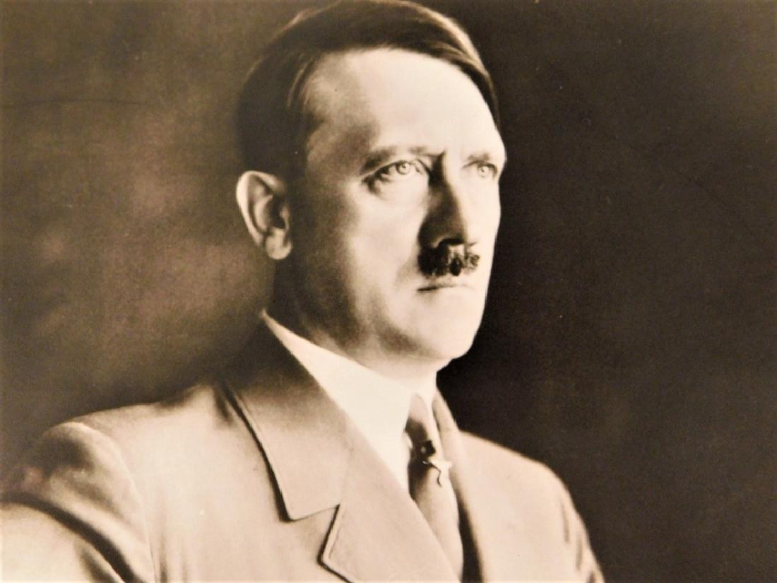 WWII German Adolf Hitler Signed Photograph - 2