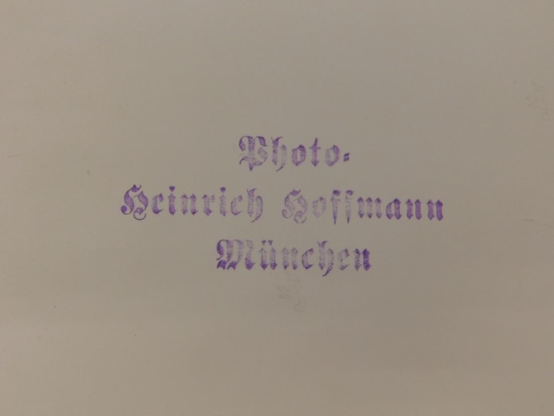 WWII German Adolf Hitler Signed Photograph - 5