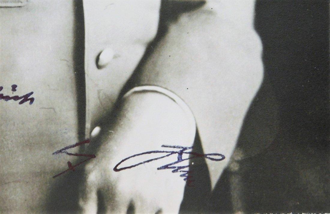 WWII German Adolf Hitler Signed Photograph - 6