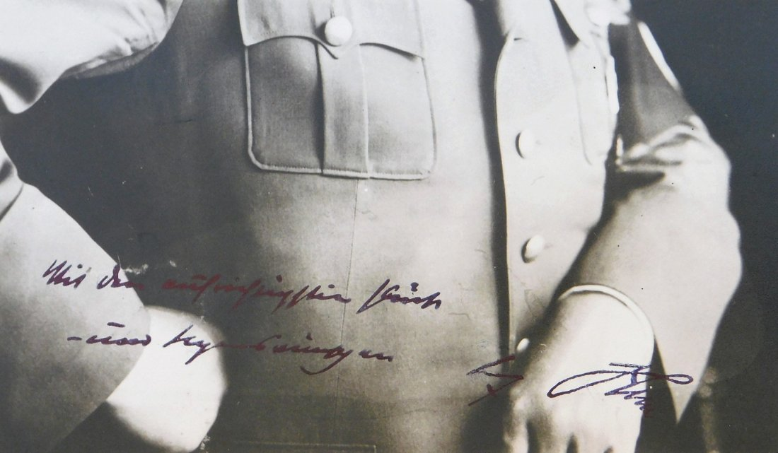 WWII German Adolf Hitler Signed Photograph - 7