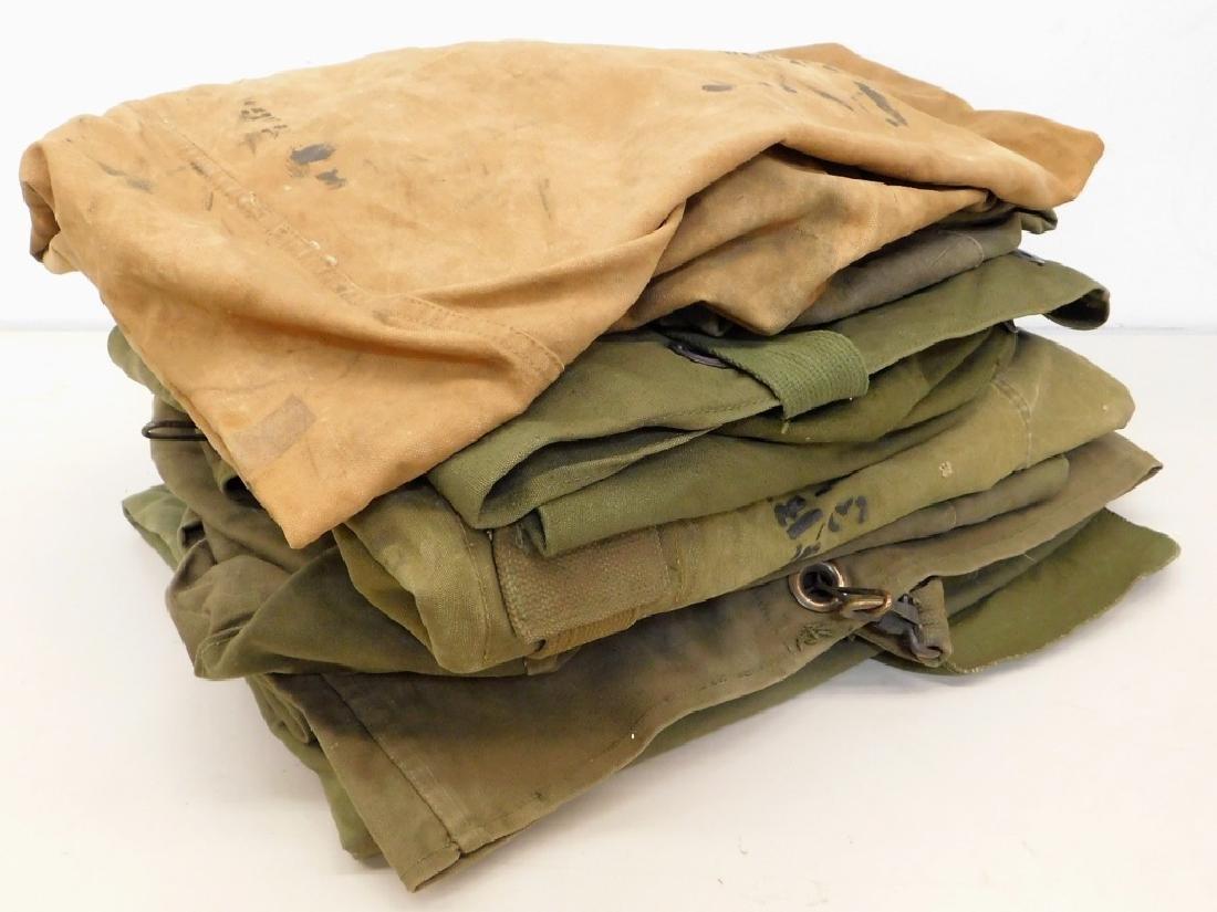 WWII U.S. Army Duffel Bags (9)