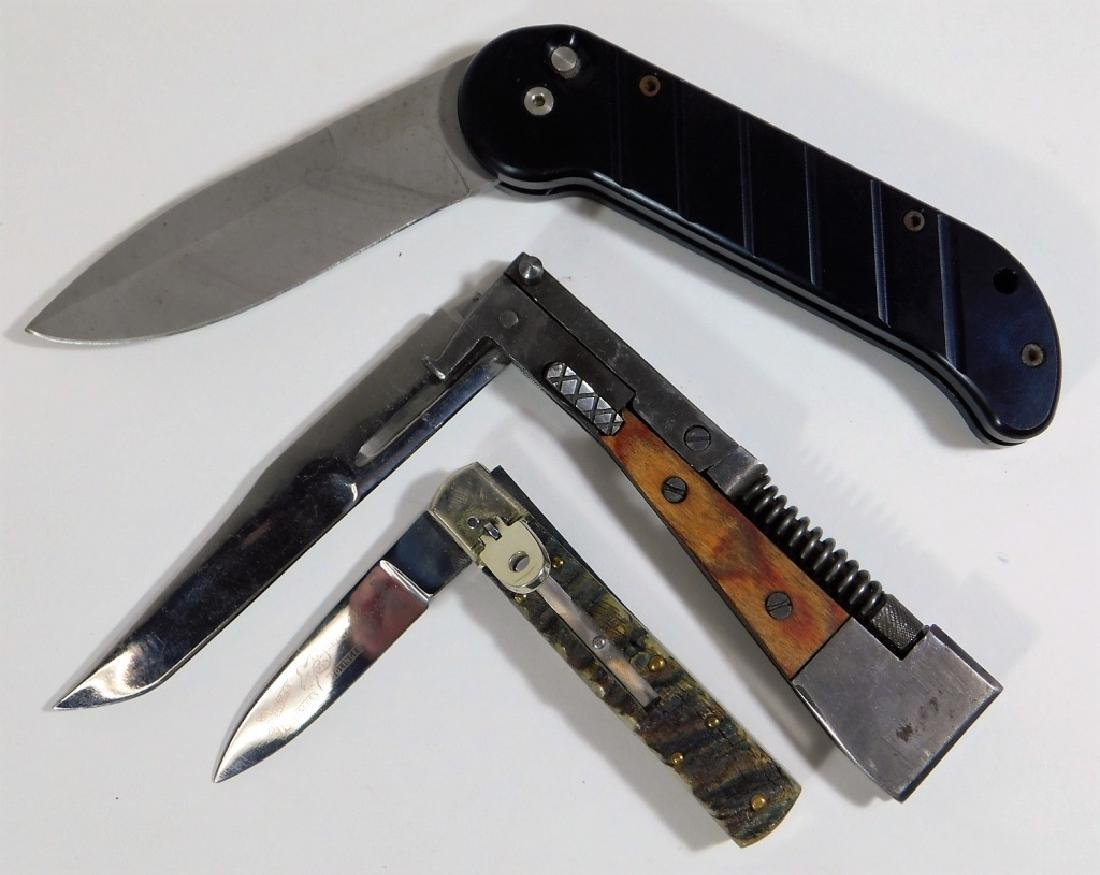 WWII to 1970s Survival Knife & Switchblades (3) - 3