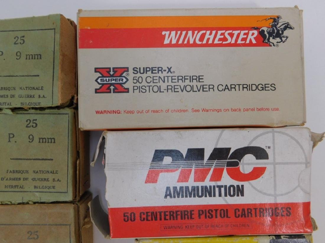 Ammunition for 9mm Pistol, WWII Vintage - 3
