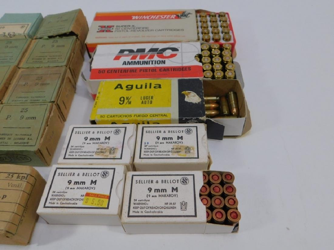Ammunition for 9mm Pistol, WWII Vintage - 6