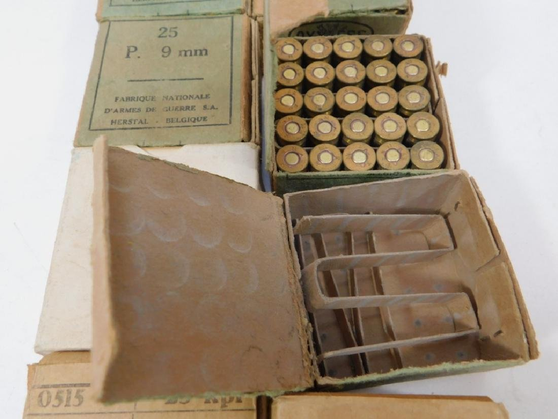 Ammunition for 9mm Pistol, WWII Vintage - 7