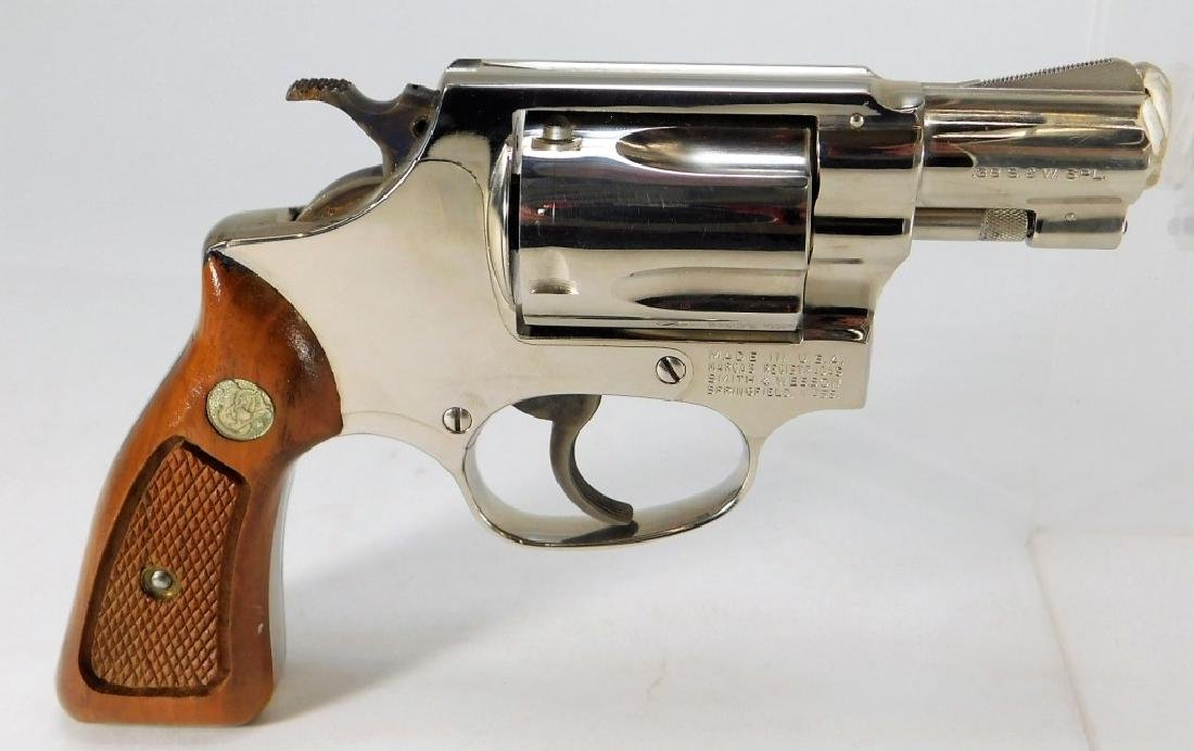 Smith & Wesson Model 36 38 Special Revolver