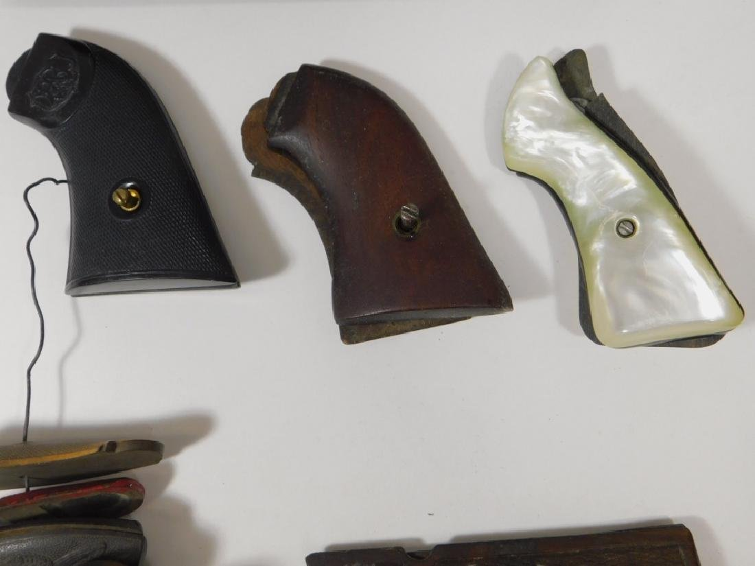 Collection of Colt 1911 & Other Wood Grips - 5