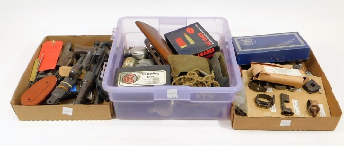 Assortment of Rifle Parts Odds and Ends