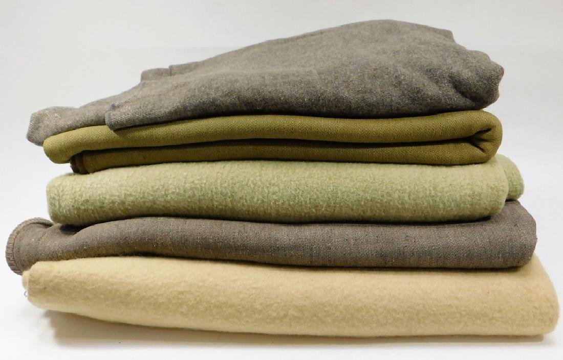 WWII Japanese Army and Navy Blankets (5)