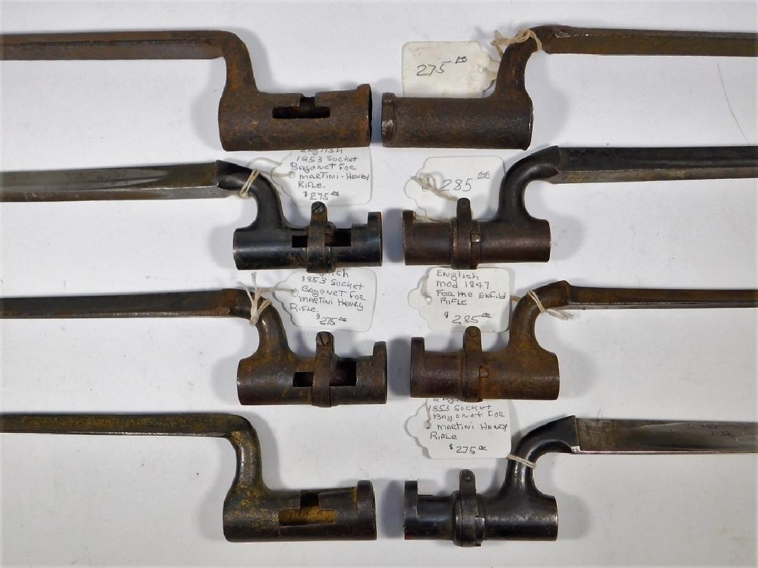 English 19th C. Martini & Enfield Spike Bayonets 8