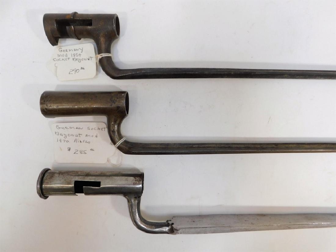 German 1854 & 1870 Spike Bayonets 3
