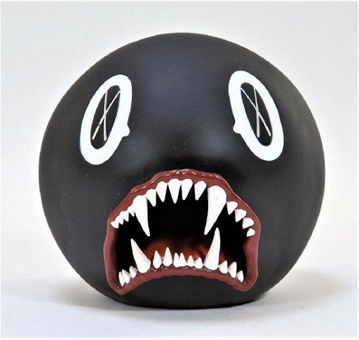 KAWS Cat Teeth Bank Black Medicom Toy Sculpture