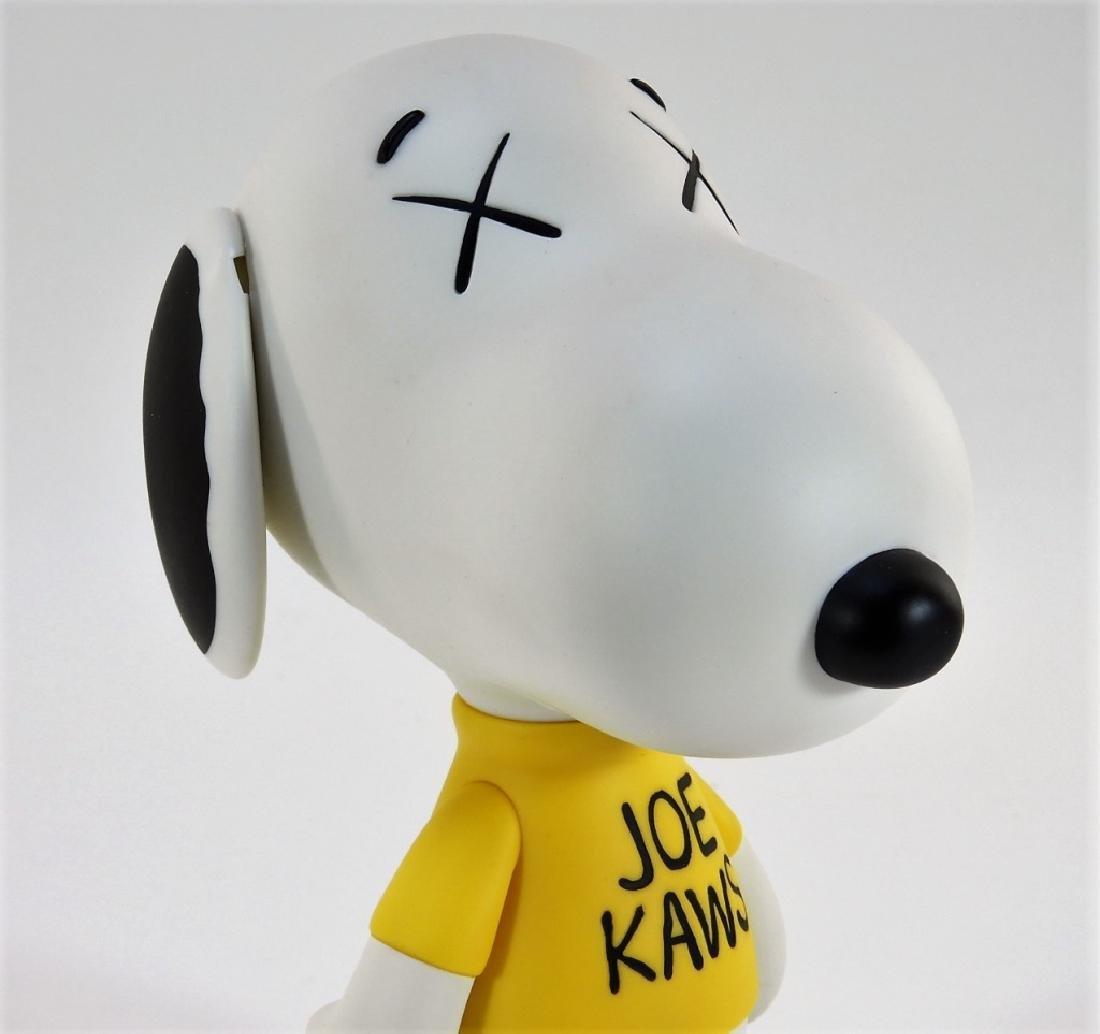 KAWS X Peanuts Snoopy Joe Kaws Vinyl Sculpture - 5