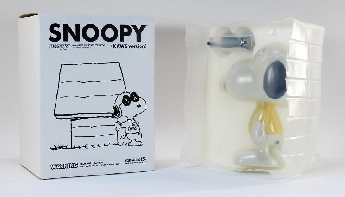 KAWS X Peanuts Snoopy Joe Kaws Vinyl Sculpture - 7