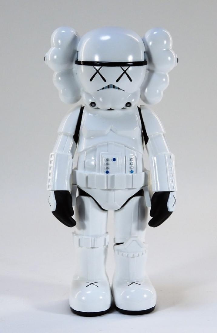 KAWS X Lucasfilm Star Wars Stormtrooper Sculpture