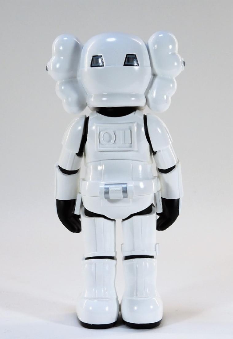 KAWS X Lucasfilm Star Wars Stormtrooper Sculpture - 3