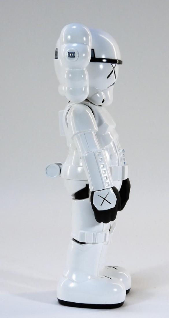 KAWS X Lucasfilm Star Wars Stormtrooper Sculpture - 4