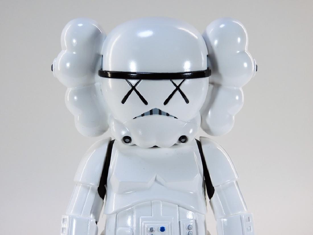 KAWS X Lucasfilm Star Wars Stormtrooper Sculpture - 5