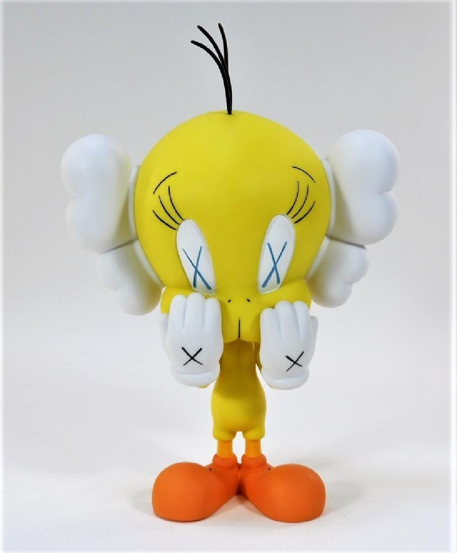 KAWS X Warner Brothers Tweety Bird Yellow