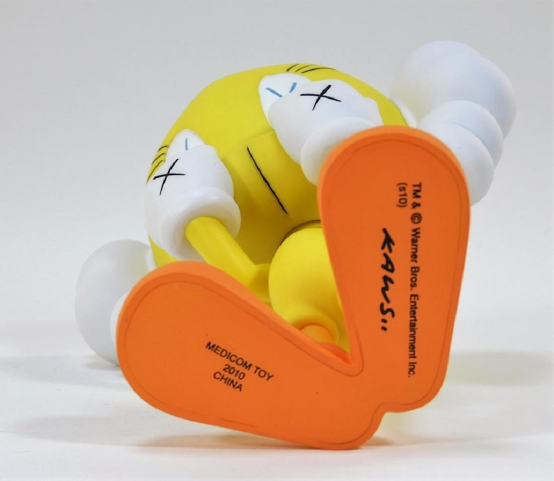 KAWS X Warner Brothers Tweety Bird Yellow - 6