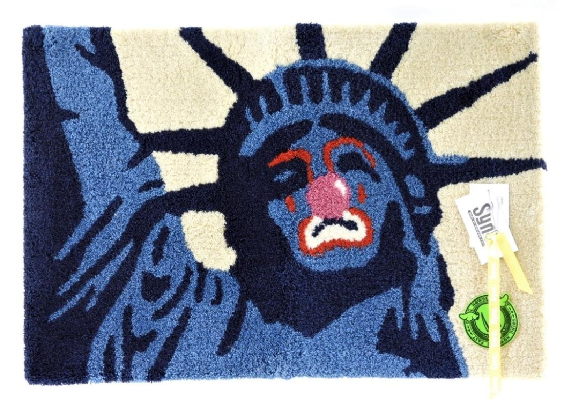 D*Face X SYNC Sad Liberty Rag Mat Carpet