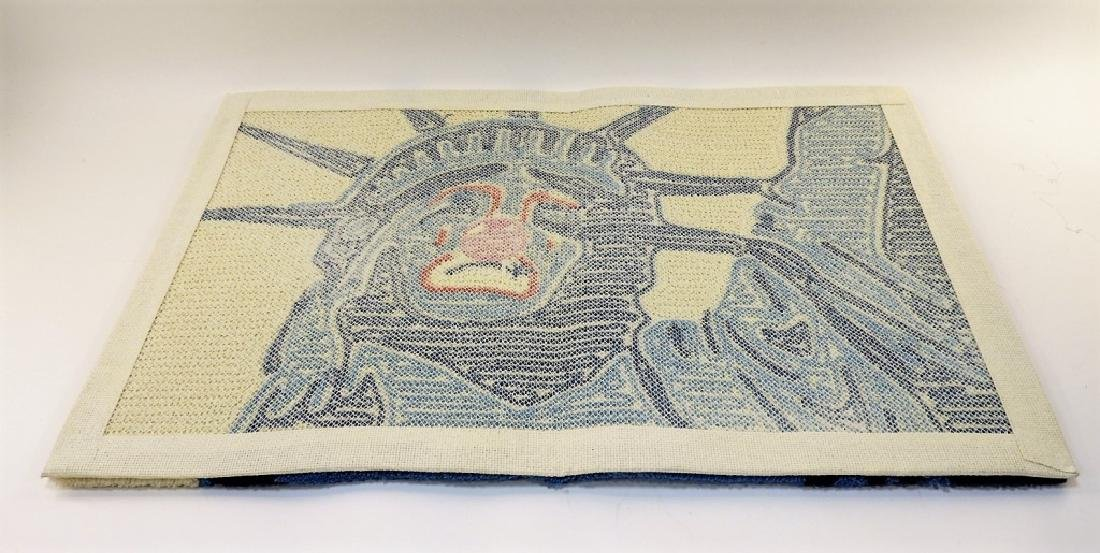 D*Face X SYNC Sad Liberty Rag Mat Carpet - 4