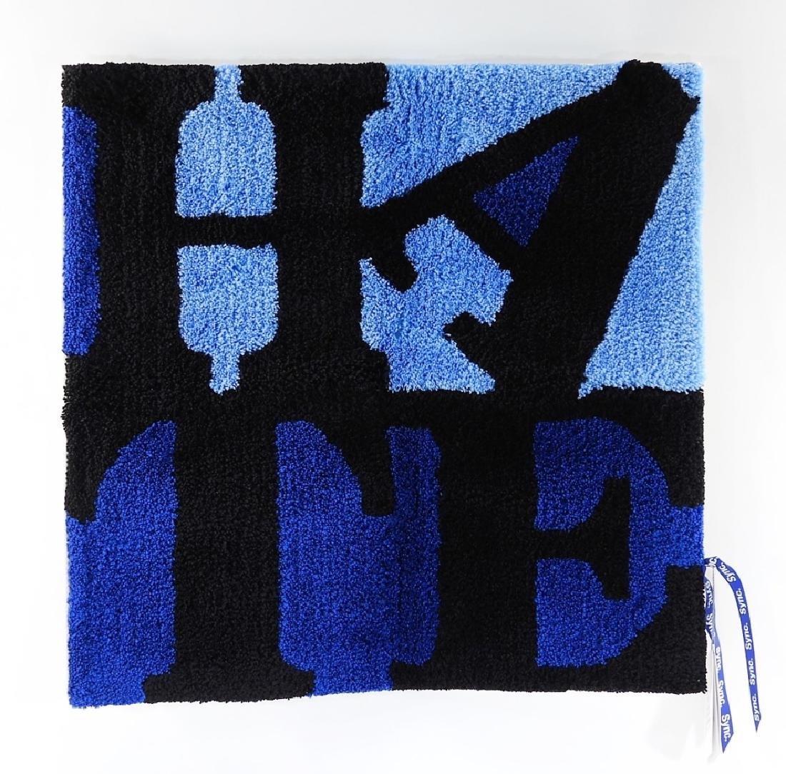 D*Face X SYNC HATE Blue Rag Mat Carpet