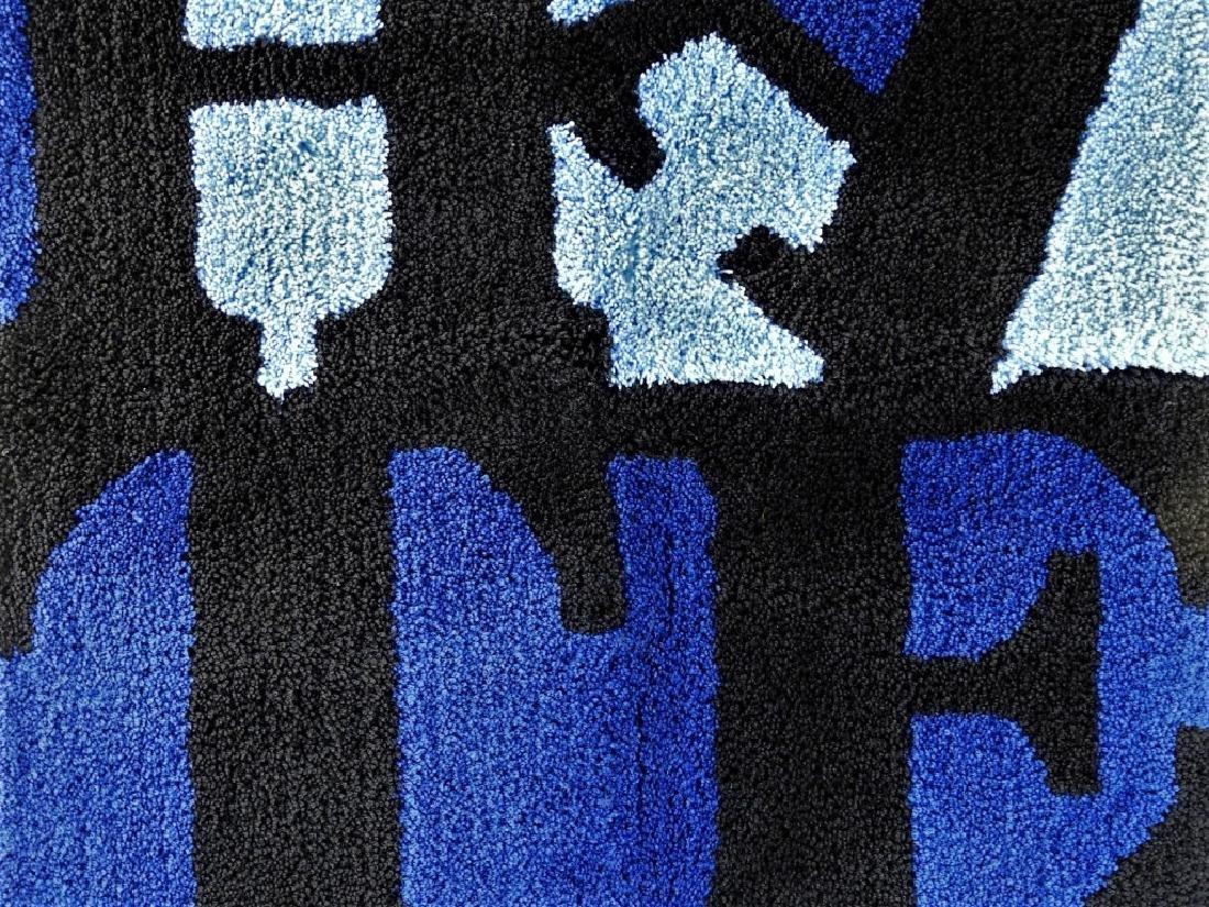 D*Face X SYNC HATE Blue Rag Mat Carpet - 2