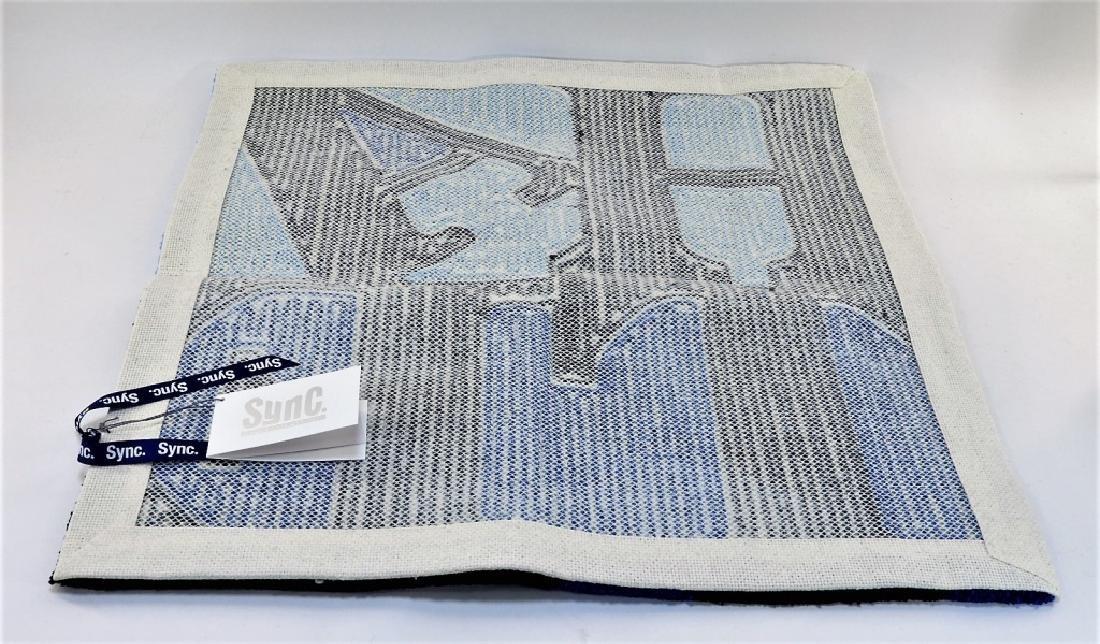 D*Face X SYNC HATE Blue Rag Mat Carpet - 4