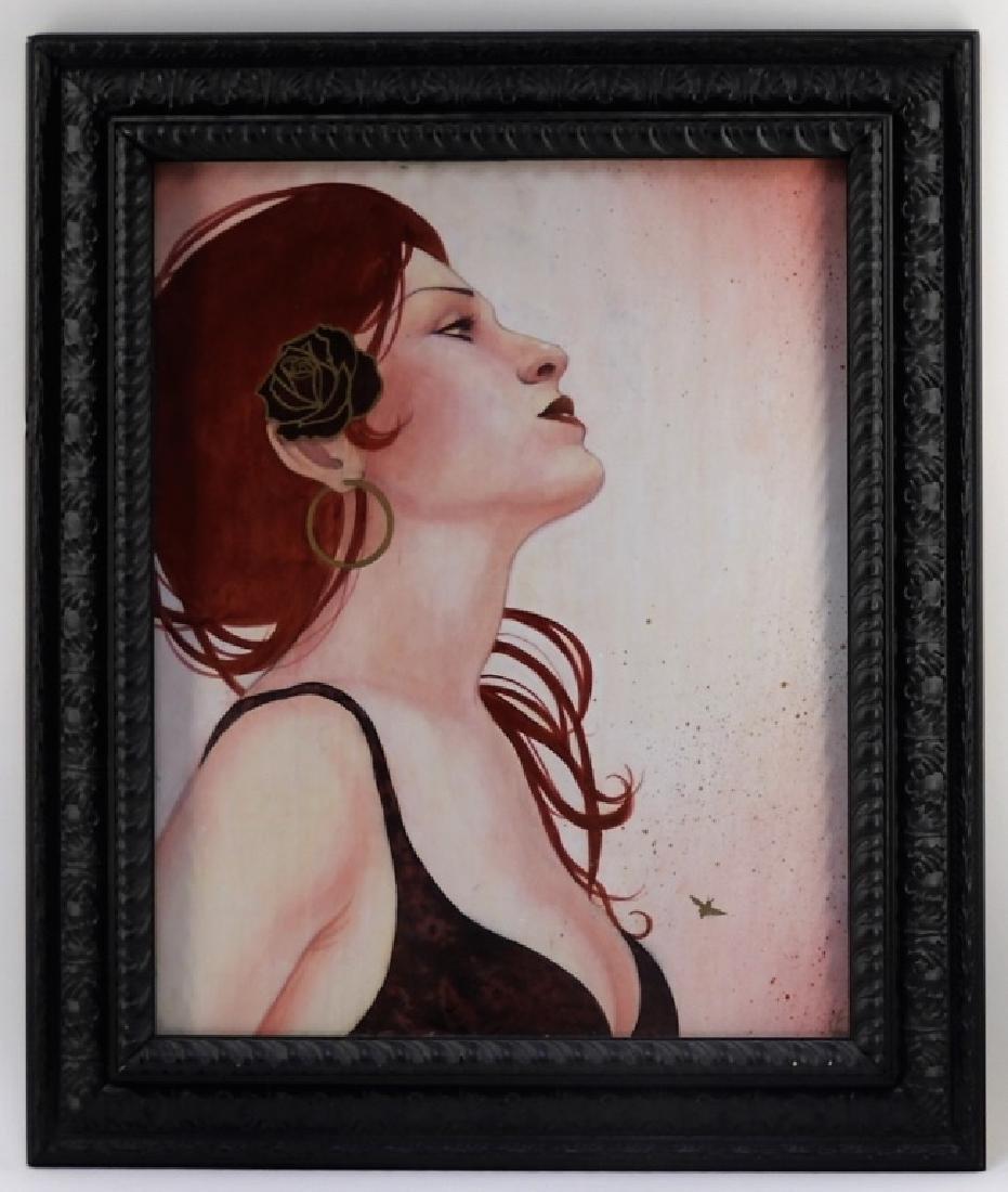 Sylvia Ji Mary M. Urban Female Portrait Painting