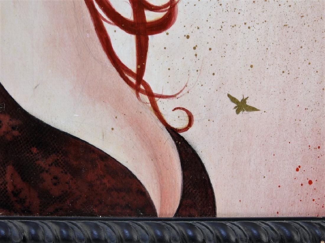 Sylvia Ji Mary M. Urban Female Portrait Painting - 3