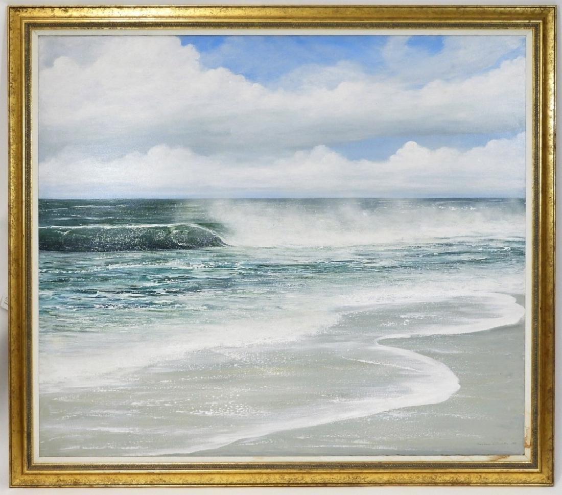 Barbara J. Cocker A/C Seascape Painting