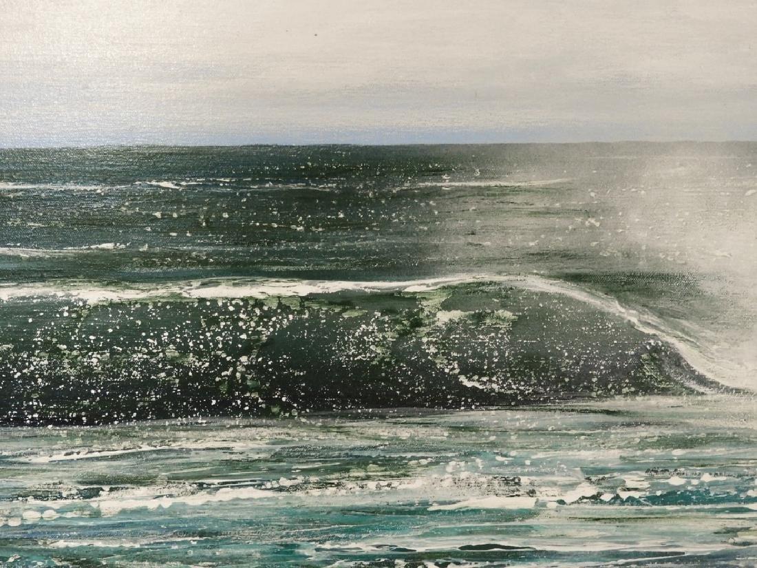 Barbara J. Cocker A/C Seascape Painting - 3