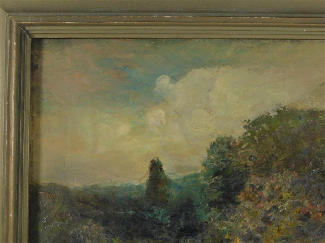 George W. Whitaker OP Barbizon Landscape Painting - 3