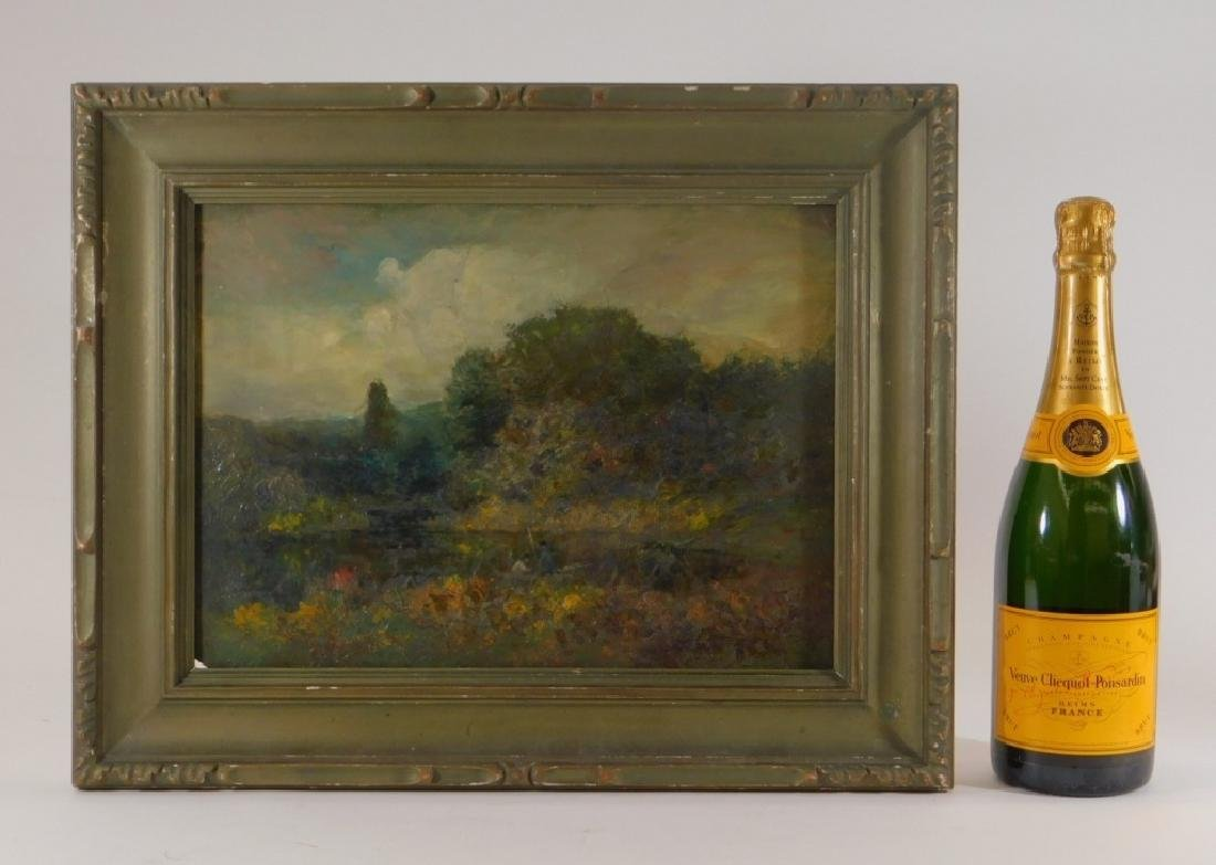 George W. Whitaker OP Barbizon Landscape Painting - 7