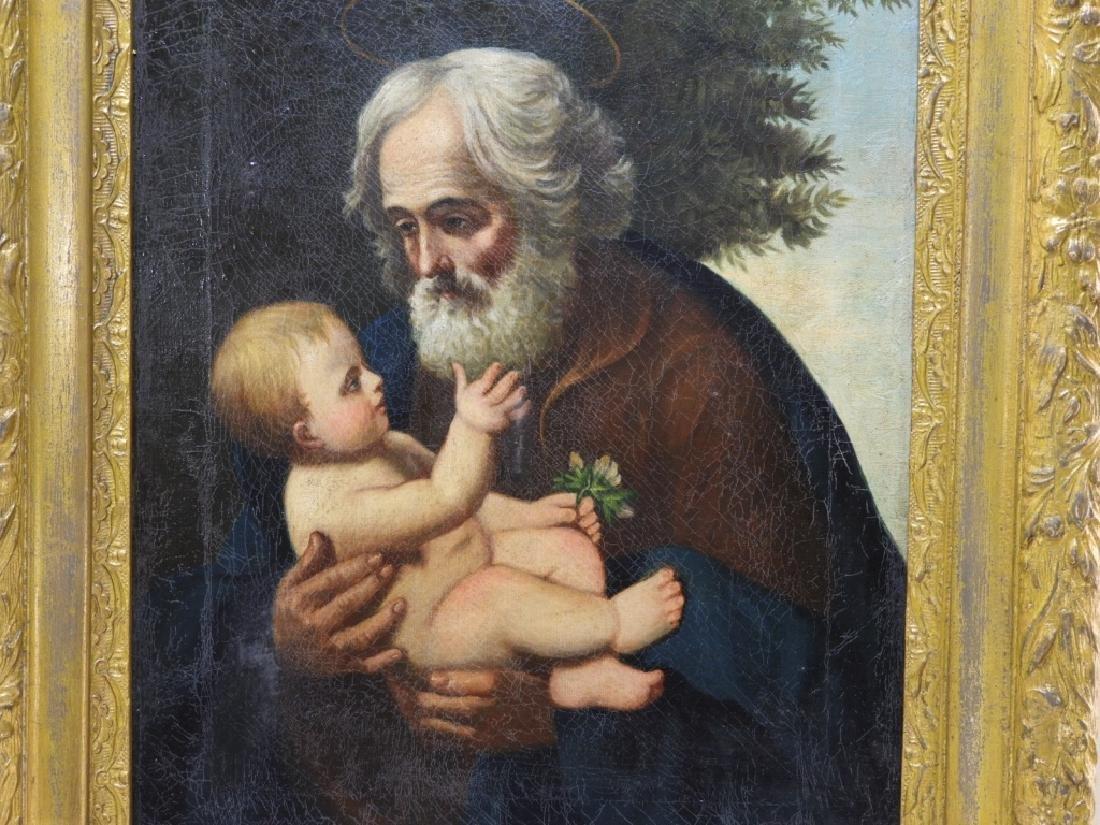 Joseph Kavanagh St Joseph & Christ Icon Painting - 2
