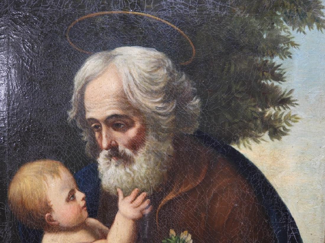 Joseph Kavanagh St Joseph & Christ Icon Painting - 3