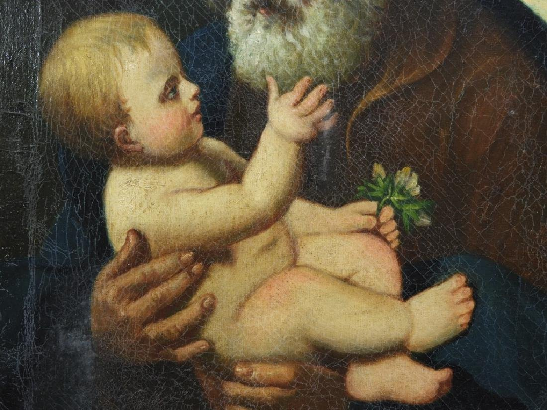 Joseph Kavanagh St Joseph & Christ Icon Painting - 4