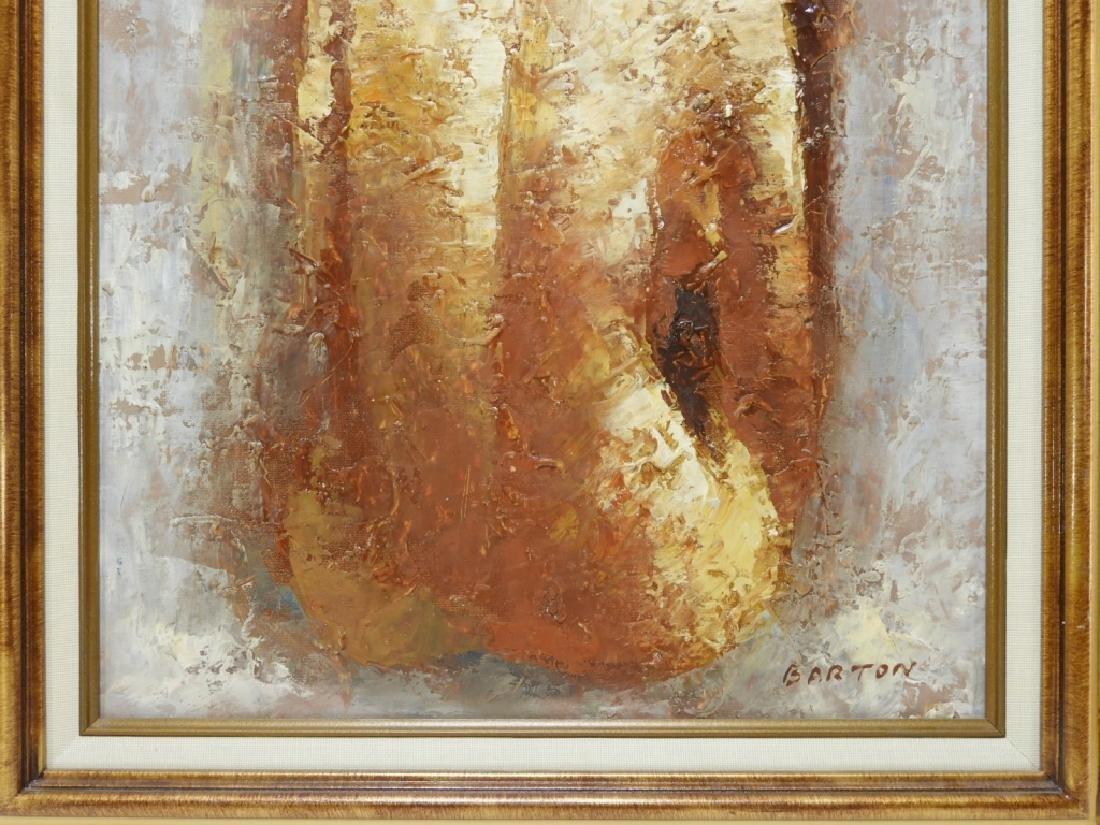 Donald Barton Impressionist Female Nude Painting - 3