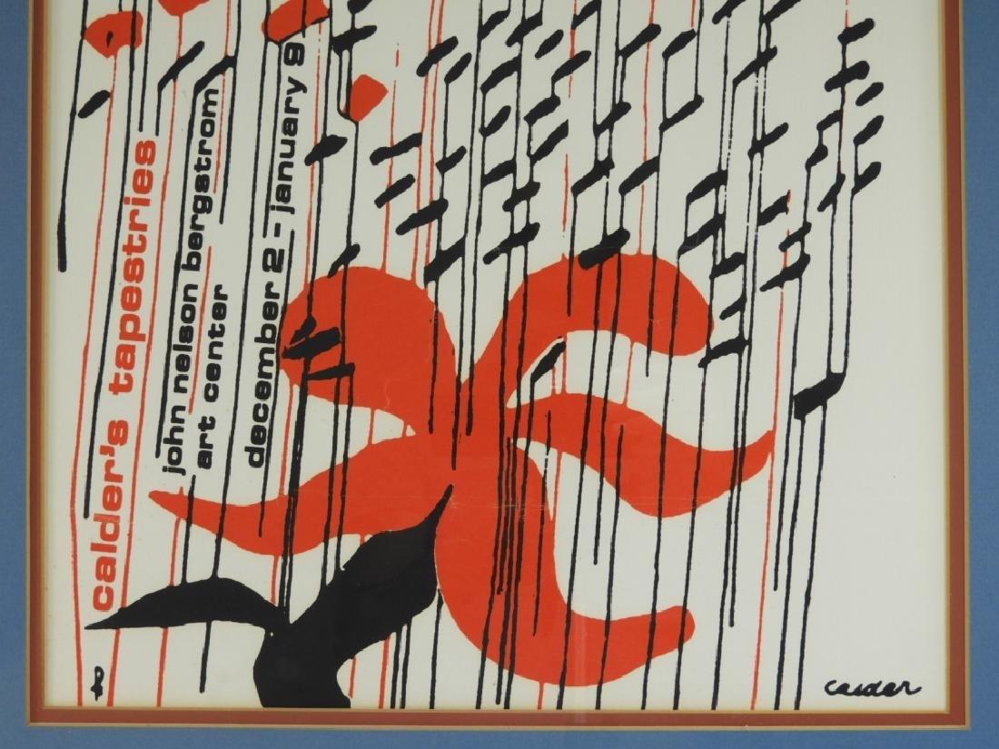 Alexander Calder Tapestries Exhibition Poster - 3